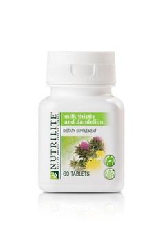 Nutrilite Milk Thistle with Dandelion - 60 tablets from Amway -- Awesome products selected by Anna Churchill