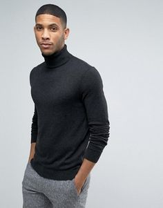 Turtleneck Sweater | Men's Roll Neck Jumper | ASOS