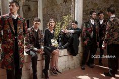 Dolce Gabbana Fall Winter 2013 Mens Campaign FTAPE.COM 01 Dolce & Gabbana FW13 Campaign