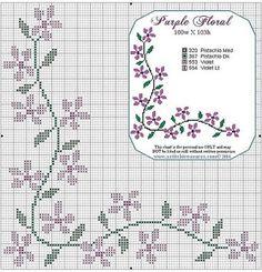 Essência & Ponto Cruz: Flores