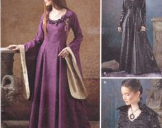 Simplicity Pattern 1137 Misses' Medieval Fantasy by GGselections