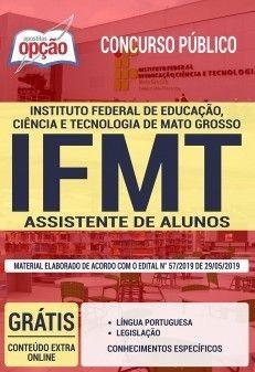 Apostila Concurso Ifmt 2019 Assistente De Alunos Com Imagens