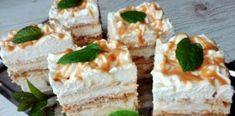 Prăjitura Banoffee. Rețetă ușoară, fără coacere Polish Recipes, Polish Food, Cookie Desserts, Cinnamon Rolls, Cake Cookies, Vanilla Cake, Nutella, Sweet Recipes, Cheesecake