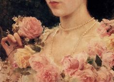 [New] The 10 Best Art (with Pictures) - Federico Andreotti - The Pink Rose Detail Private Collection. Classic Paintings, Old Paintings, Beautiful Paintings, Renaissance Kunst, Renaissance Paintings, Aesthetic Painting, Aesthetic Art, Aesthetic Drawings, Christian Art