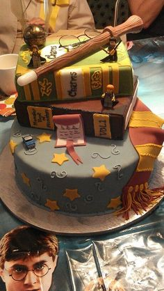 Harry Potter Cake I Totally Want A Harry Potter Cake For My Next Birthday Mehr