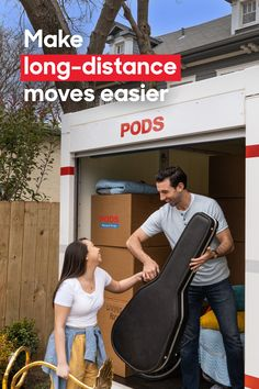 Looking for an easier #LongDistanceMove? At PODS, we do the driving, and our drivers always go the extra mile to make sure your move is handled with care. #MovingCompany #MovingDay Moving Day, Moving Tips, Long Distance Moving Companies, Moving Cross Country, Storage Center, Moving Services, Extra Mile, Bring It On, Moving Hacks