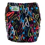 Elite One Size Diaper Amore Snap