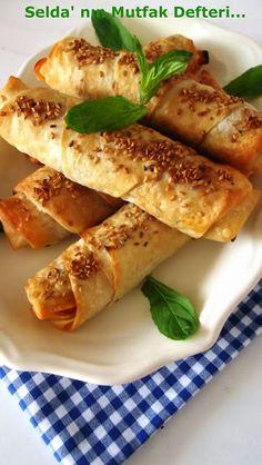 Selda' nın   Mutfak   Defteri...: Mercimekli Çıtır Börek