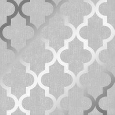 I Love Wallpaper Zara Shimmer Metallic Wallpaper Soft Grey Silver - Wallpaper from I Love Wallpaper UK Trellis Wallpaper, Metallic Wallpaper, Damask Wallpaper, Vinyl Wallpaper, Wallpaper Backgrounds, Copper Wallpaper, Brick Wallpaper, Tree Wallpaper, Textured Wallpaper