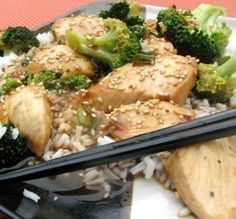 """Chicken & Broccoli Skillet Stir-Fry: """"This can be adapted for whatever ingredients you have on hand! I toasted the sesame seeds in a dry skillet before adding them."""" -Melvin'sWifey"""