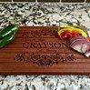 Personalized Beautiful Large Mahogany Cutting  Board - Grayson Style Gifts For Cooks, Cutting Board, Boards, Beautiful, Style, Planks, Swag, Cutting Boards, Outfits