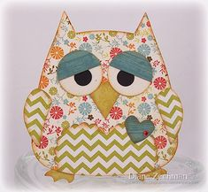 Sizzix owl by cookiestamper - Cards and Paper Crafts at Splitcoaststampers