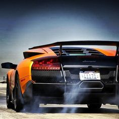Mean Lamborghini Murcielago SV