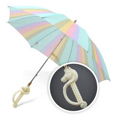 Magical Unicorn Umbrella || Better to keep this as a walking staff, just in case I fall into Wonderland! ;D
