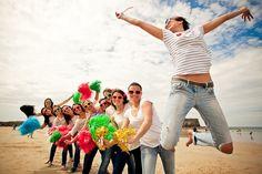 EVJF plage deguisement - photo Pimprunelle Photography -  La Fiancee du Panda blog Mariage et Lifestyle 3