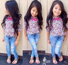 This girl is gonna be gorgeous when she's older!<3
