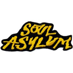 Soul Asylum - Yellow Logo Patch