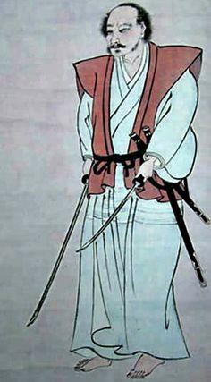 Self-portrait of Miyamoto Musashi
