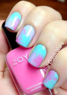Wonderful Water Color! #nails