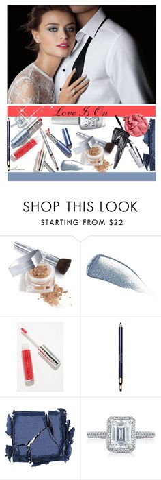 """Love is On"" by arethaman ❤ liked on Polyvore featuring beauty, Christian Dior, Revlon, Yves Saint Laurent, Modern Minerals, Clarins, Surratt, Tacori, GetTheLook and weddingmakeup"