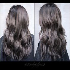 It's a love hate relationship with this color. Some days I love it and other days I hate it for how short slate grey last. At least it fades to a ashy blond after. My girl @thaicasss always rockin my work. She started with red hair 1.5 year ago.  #Hairbylily408 #colorist #lorealprous #smokey #balayage #baliage #ombre #ombrehighlights #balayageombre #ombrehair #sunkissed #handpainted #hairpainting #colormelting #ashblond #blond #highlights #btcpics #modernsalon  #olaplex #behindthechair…