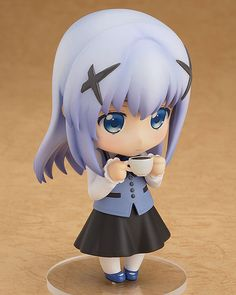 Is the order a rabbit? - Chino - Nendoroid - Good Smile  Company (Dez 2015) - SD-Figuren / Nendoroids - Japanshrine | Anime Manga Comic PVC Figur Statue