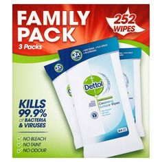 Dettol Anti-Bacterial Cleaning Surface Wipes, 252 Wipes D... https://www.amazon.co.uk/dp/B00QIIIZ2I/ref=cm_sw_r_pi_dp_x_XY6PxbY92HJ0D