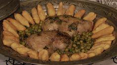 ΥΛΙΚΑ: 1 κοτόπουλο εξοχής 1 πακέτο αρακά Αλεύρι Άνηθο Αλάτι, πιπέρι, κόλιανδρο 6 κρεμμυδάκια φρέσκα 1 αυγό Λάδι, βούτυρο