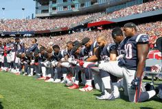 In remarks Friday night in Alabama, Trump took issue with NFL players who have knelt in protest during the national anthem. And on Twitter Saturday, he targeted Stephen Curry of the NBA.