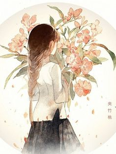 Pin by madeline elizabeth on manga/anime in 2019 Anime Art Girl, Manga Art, Manga Anime, Anime Girls, Illustration Manga, Art Watercolor, Drawn Art, Beautiful Anime Girl, Animes Wallpapers