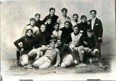 University of Wisconsin Football Team, 1898 University Of Wisconsin Football, Football Team, Laundry Equipment, Soccer Art, Australian Football, New York Public Library, Male Beauty, Vintage Men, Team Photos
