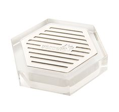 Rosseto | Honeycomb Acrylic Drip Tray With Stainless Steel Insert For Beverage Dispensers #Hospitality #Banquet #Catering #HotelDining #FoodPresentation