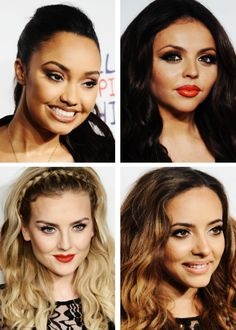 The Girls! Look at Leigh Anne's eye makeup! Just look at it! (Is it weird that I'm fangirling over makeup?)