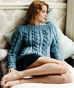 Rowan Yarn: Cable Sweater
