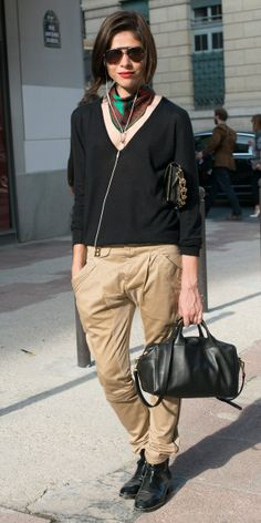 Emily Weiss, tomboy chic