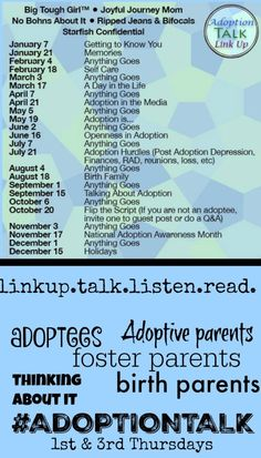 The Adoption Talk linkup is for adoptive & foster families, birth parents, adoptees and anyone connected to adoption. Come read multiple blog posts & articles about adoption in one place, 2x monthly. #AdoptionTalk |Adoption|Foster Care|Parenting|Birth Mother|International Adoption|Domestic Adoption|China Adoption|Ripped Jeans and Bifocals|@JillinIL|