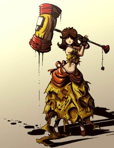 ZELDA and PRINCESS PEACH Get Violent in This Fan Art - News - GameTyrant