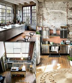 Loft Kitchen Ideas. Kitchen Interior Design. Explore More Loft Kitchen Ideas  On Https: