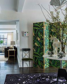 Elegancia clásica en un pequeño apartamento de Manhattan