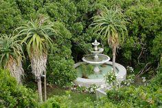 The romantic feel of this Honeymoon/Anniversary Destination! Beach Villa, Fountain, Travel Destinations, Romantic, Luxury, Outdoor Decor, Garden Ideas, Anniversary, Home Decor