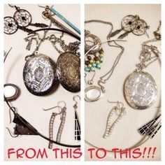 How to easily clean tarnished silver jewelry with pantry items! | HubPages