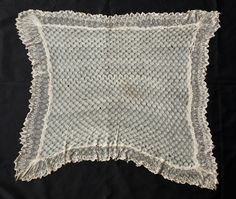 England's Queen Victoria gave Harriet Tubman this shawl around 1897. Gift of Charles L. Blockson