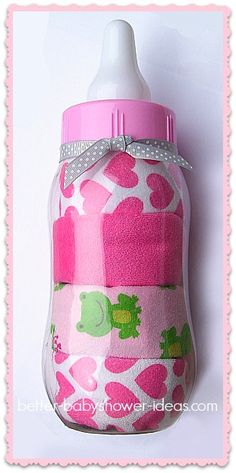 Large Baby Bottle Decoration Baby Shower Gift Idea Guitar Or Violin Diaper Cakemake Two