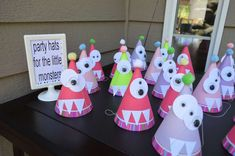 Girly Monster Bash Birthday Party Ideas | Photo 2 of 40 | Catch My Party