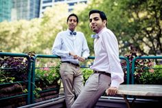 Navin and Navin's New York Love Story - Indian Wedding Blog: Rubies and Ribbon