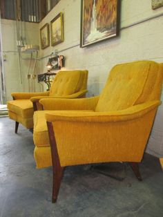 A Pair of 1960u0027s MID CENTURY MODERN Lounge Chairs by Kroehler & 42 best Furniture (Mid Century please!) images on Pinterest | Mid ...