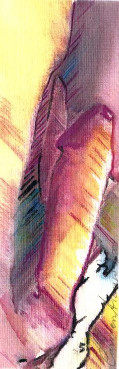 """""""Eros 3"""" - Aquarela. Projeto """"Delta Z"""". Setembro 2004. Arte Erótica."""