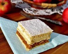 Juditka konyhája: ISTENI ALMÁS KRÉMES Vanilla Cake, Cake Recipes, Cheesecake, Food And Drink, Snacks, Cookies, Baking, Addiction, Diy