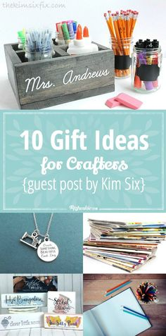 10 great gift ideas for the crafter in your life! via @tipjunkie