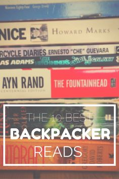 From Shantaram to the Motorcycle Diaries. How many books of this Top 10 Best Backpackers Reads have you read? #literature #backpacking #books